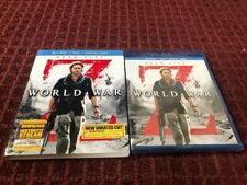 World War Z (Blu-ray/DVD, 2013, 2-Disc Set, Unrated Includes Digital Copy) *New*