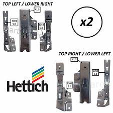 2 x Door Hinge Fridge Freezer Aeg Baumatic Di Dietrich Hygena Zanussi Electrolux