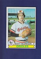 Scott McGregor 1979 TOPPS Baseball #393 (EXMT) Baltimore Orioles