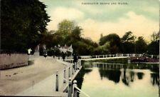 Carshalton Bridge & Water in S.& W.Series.
