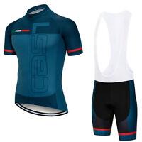 2021 Team Cycling Clothing Set Mens Bike Short Jerseys Bib Shorts Kits Shirt Pad