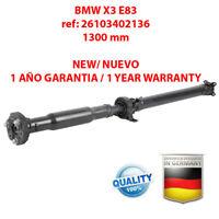 ARBRE DE TRANSMISSION BMW X3 E83 26103402136, 3402136 / BRAND NEW PROPSHAFT