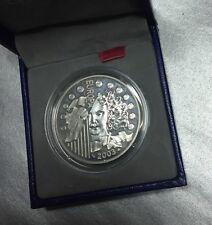 """1 EURO 1/2 FRANCE  """" EUROPA """" 2003 B.E - 1er ANNIVERSAIRE de L'EURO - ARGENT -"""