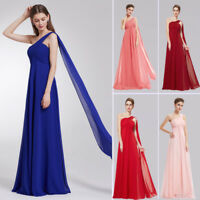Ever-Pretty One-Shoulder Evening Dresses Party Gown Long Maxi Bridesmaid Dresses