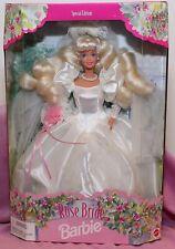 Rose Bride Barbie Doll (Special Edition) (New) NIB near mint
