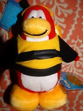 Club Penguin Plush Series 3 ☆ Bumble Bee with Coin ☆ 2009 Retired