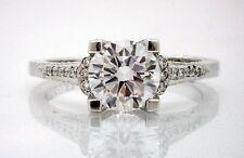 $17,750 NEW TACORI 2604RD Platinum 950 Eng Ring 1.18ctw SI1 E Triple EX EGL CERT