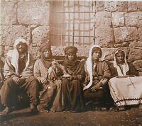 Oriente Siria Libano Foto Stereo n19 Placca Da Lente Vintage
