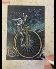 EMEK Cybercycle BLOTTER Bicycle Day 2021 Art Print SIGNED S/N LE #/200 poster