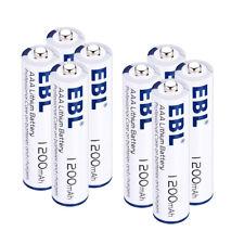 8Pcs 1200mAh Lithium Aaa Leakproof Batteries ( 1.5V) Long Lasting Single-Use