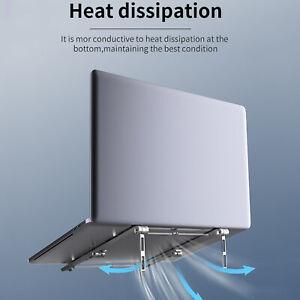 Adjustable Stand Portable Folding Stand For Laptop Tablet Holder Desk Riser UK