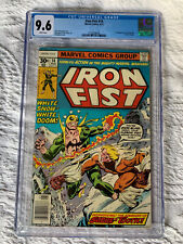 Iron Fist 14 CGC 9.6 White Pages!! First Sabretooth
