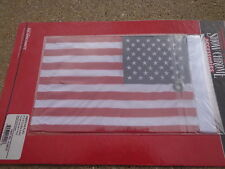 "AMERACAN FLAG 6"" x 9"" FOR Trunk Mounted Double Flag Holder - Can-Am HARLEY HONDA"