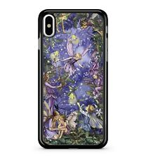 Mystical Playing Fairy Girls Twinkling Sky Lovely Forest 2D Phone Case Cover
