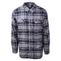 Columbia Men's Collegiate Flare Gun L/S Flannel Georgia Bulldogs (Retail $60)