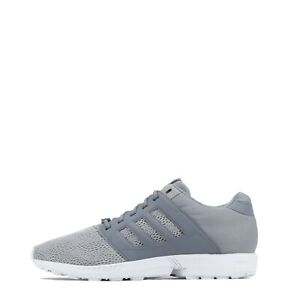 adidas Original ZX Flux 2.0 Men's Gym Casual Trainers Shoes Grey/Grey UK 12