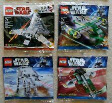 LEGO Star Wars Clone Wars - Brickmaster - 4 Rare Sets - 20016 20018 20019 20021