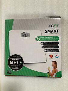 Concept Green CGFIT Smart Scale, White