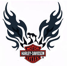 HARLEY DAVIDSON AQUILA ADESIVI FINESTRA 7x7cm Eagle window DECAL WINDSHIELD HD