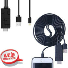 Lightning to HDMI TV HDTV Cable HDTV AV Adapter Converter For iPhone iPad iTouch