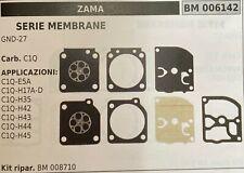 C/·T/·S Kit guarnizioni e Membrana per carburatore ZAMA GND-39 per carburatore ZAMA C1Q Stihl BG55 65 85 Efco 935F Husqvarna 1216 1219 Confezione da 2