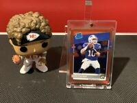 2020 Donruss Optic Jake Fromm Rated Rookie Red Prizm HOLO #18/99 Buffalo Bills!