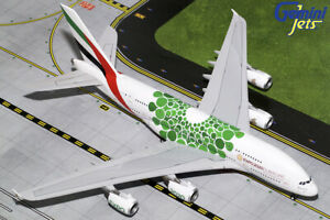 Emirates Airbus A380 A6-EEW Expo 2020 Green Gemini Jets G2UAE774 Scale 1:200