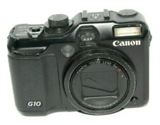 Broken Canon PowerShot G10 14.7 MP Digital Camera - Black