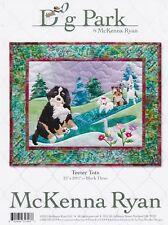 Teeter Tots, McKenna Ryan, Dog Park Quilt Pattern Series,Block 3, Dogs on Seesaw
