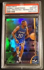 1998 DARRELL ARMSTRONG FINEST NON PROTECTED REFRACTOR  #109 PSA 10  POP 1  (626)