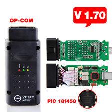 V1.70! OPEL OP COM Vauxhall OBD2 Diagnostic Code Reader Scanner Tool  2017 OPCOM
