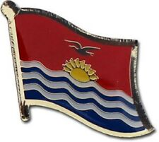 Kiribati Country Flag Bike Motorcycle Hat Cap lapel Pin