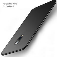 For OnePlus 7 7T Pro Case Ultra Thin Matte Hand Feeling Hard Shockproof Cover 7T