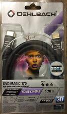 Oehlbach! DVD Magic 170 1,70m (34002) High Speed HDMI Kabel mit Ethernet##