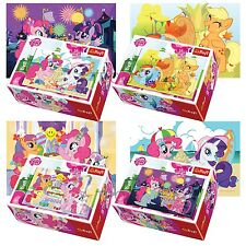 Trefl Mini 4 X 54 Pieces Kids Unisex My Little Pony Themed Jigsaw Puzzles