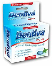 DENTIVA - COMPLETE ORAL HYGIENE HALITOSIS BAD BREATHE LOZENGE