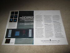 Sequerra Model 1 Ultimate Tuner Color Ad, 1975, 2 pgs