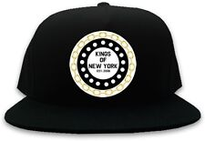 KINGS OF NY CHAIN LOGO SNAPBACK HAT BASEBALL CAP