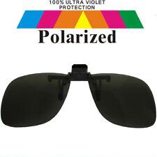 Clip on Specs Black Car Driving Fishing Polarized Polarised Sunglasses 1521-1 S