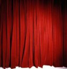 NEW Stage Curtain~10 x 20 FR Red Princess Velour Pleated Backdrop~FREE SHIPPING~