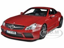 2009 MERCEDES SL65 AMG BLACK SERIES (R230) RED 1/18 BY MINICHAMPS 100038122