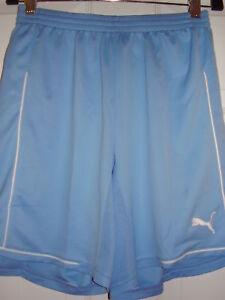 Puma Women's Manchester Shorts Pearl Blue Size XS