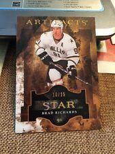 2011-12 UD Artifacts Star #144 Brad Richards /25 Dallas Stars