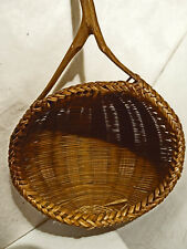 Vintage or Possibly Antique Handmade Wood Strainer. Unique & Beautiful VGC