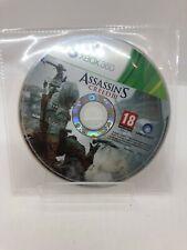 Assassin's Creed 3 III Microsoft Xbox 360 disco solamente