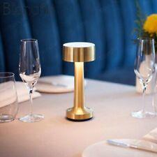 Cordless Bar Table Lamp Rechargeable Battery Restaurant Bedroom Light Fixtures