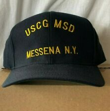 New Uscg Us Coast Guard hat cap Msd Messena New York Military crew