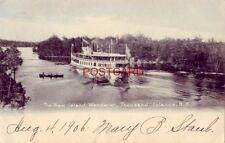 pre-1907 The New Island Wanderer, Thousand Islands, N. Y. 1906