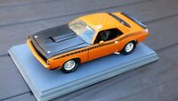 Rare 1970 Plymouth Barracuda AAR Cuda 1:18 Orange American Muscle Toy Model Car
