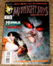 MARVEL COMICS #2 MIDNIGHT SONS UNLIMITED MID HIGH GRADE FREE BAGGED & BOARDED
